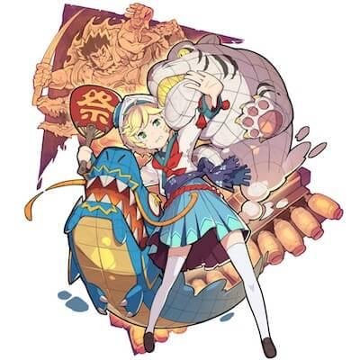 神輿少女 ハネト画像
