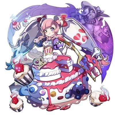 シフォンドレスのケーキ姫画像