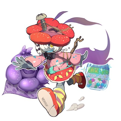 かぐわしの花人形画像