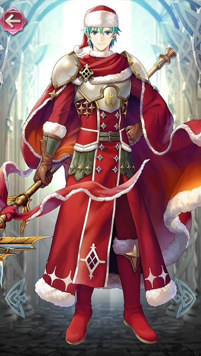 クリスマスエフラムの立ち絵
