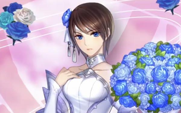 花嫁タニスのイラスト