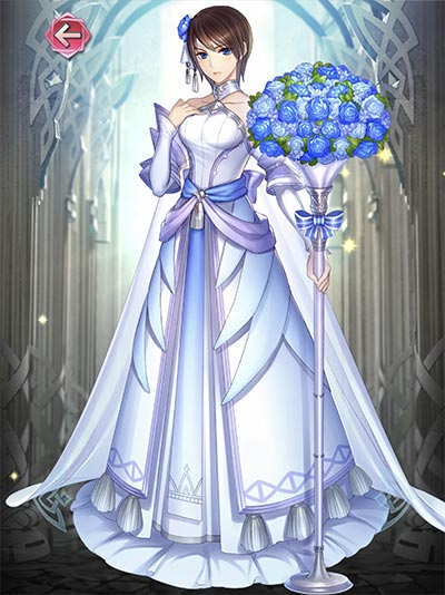 花嫁タニスの立ち絵