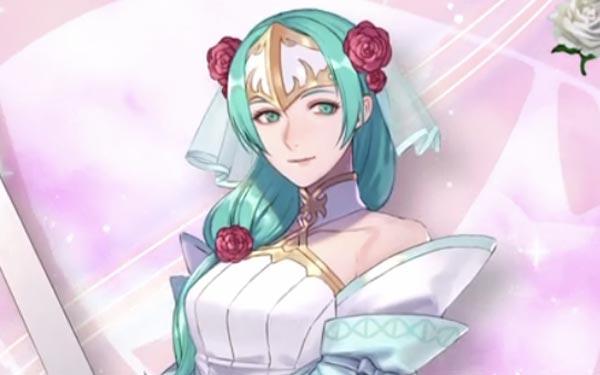 花嫁シグルーンのイラスト