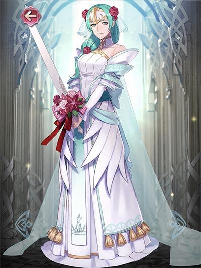 花嫁シグルーンの立ち絵