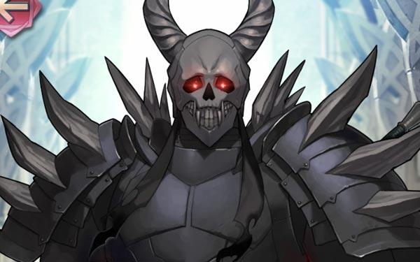 死神騎士のイラスト