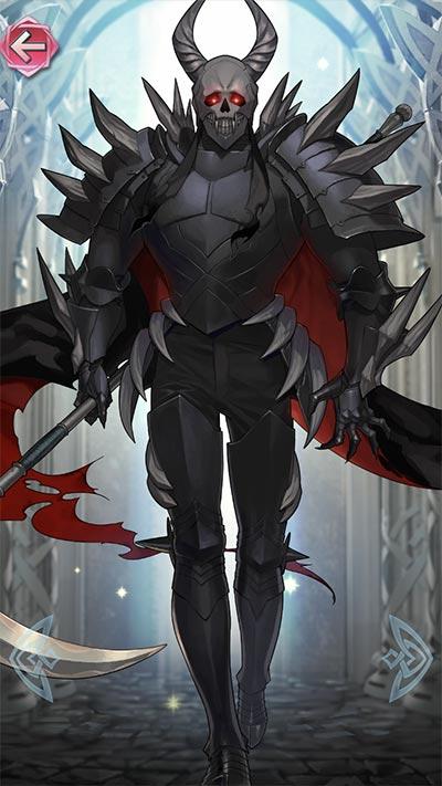 死神騎士の立ち絵