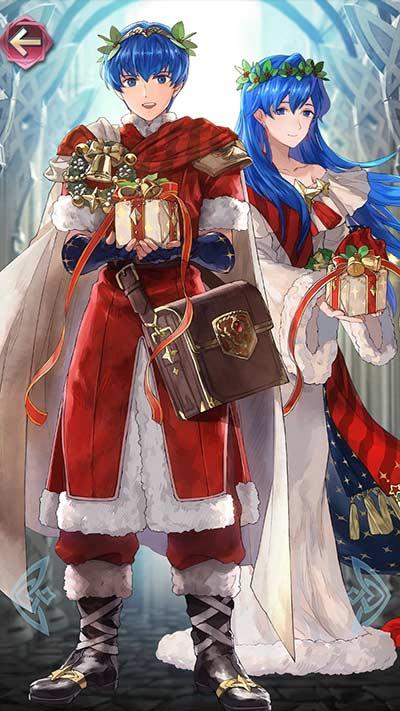 クリスマスマルスの立ち絵
