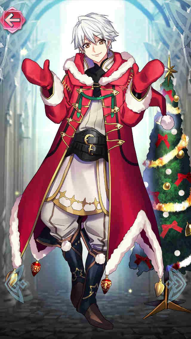クリスマスルフレ(男)の立ち絵