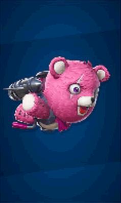 ピンクのクマちゃんクルーザーの画像