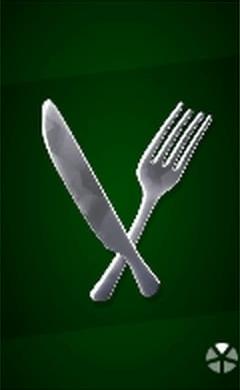 フォークナイフの画像
