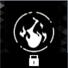 熱放射のアイコン