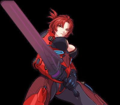 深紅姫子の全身画像