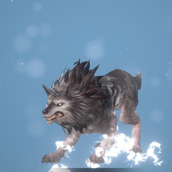 獰猛なオオカミ画像