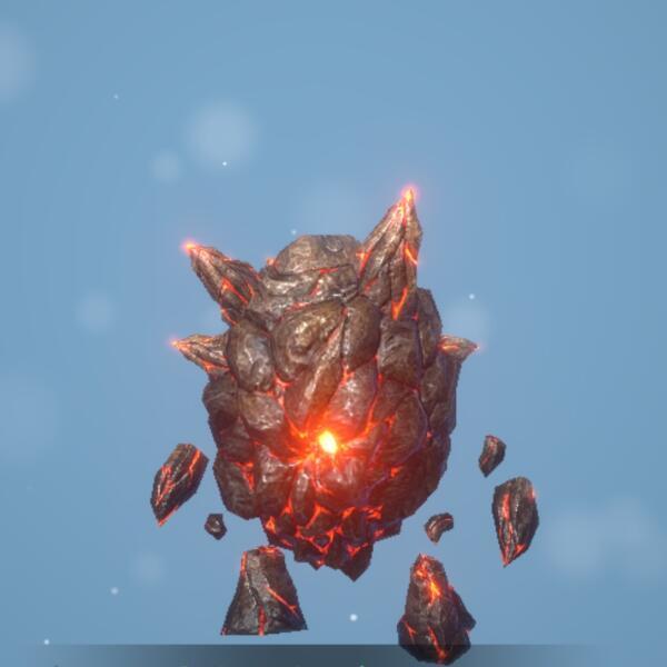 火炎爆弾ゴーレム画像