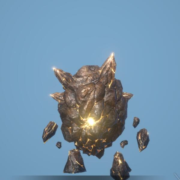 光輝爆弾ゴーレム画像