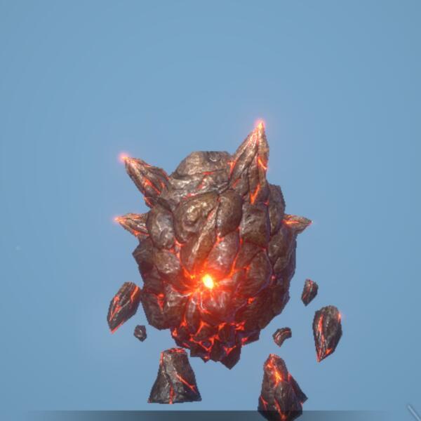 崖の爆弾ゴーレム画像