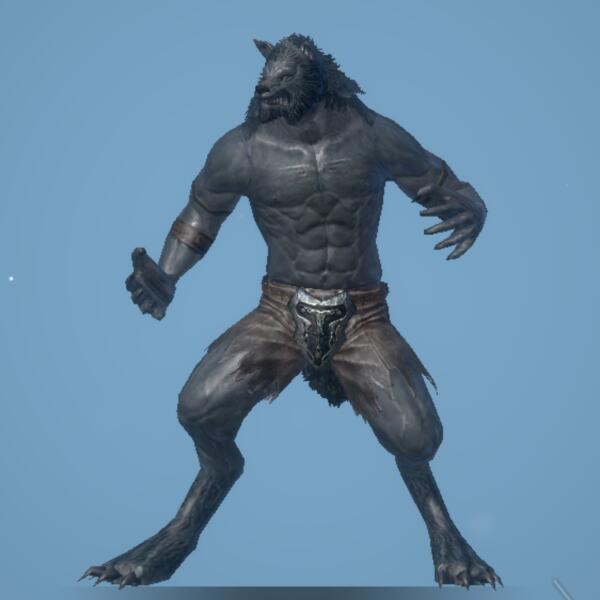 憤怒の人狼画像