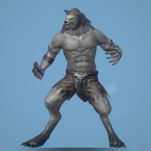 軽捷な人狼画像