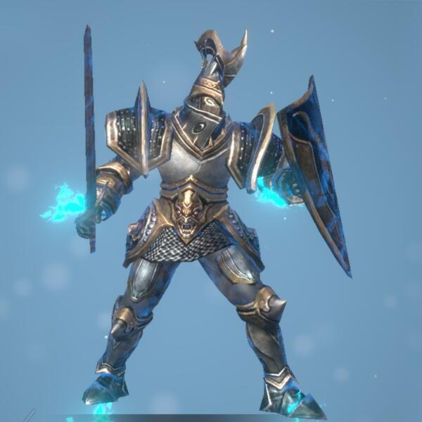 氷城の兵士画像