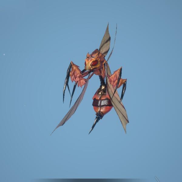 鋼鉄の毒針蜂画像