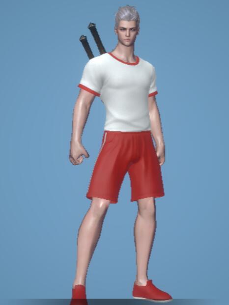 赤い体操服