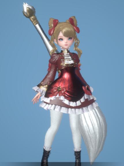 [華麗なる姫]ドレス
