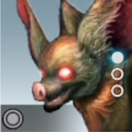 吸血コウモリのアイコン