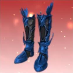 アッシュラムの襲撃ブーツ