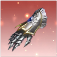上級騎士の元素グローブ