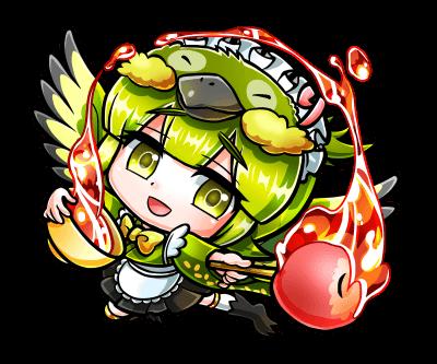 翔獣王・リンゴ飴ジロ