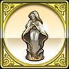 女神の聖像のアイコン