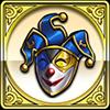 道化師の仮面のアイコン