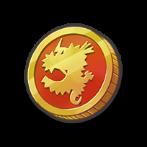 幸運のコインのアイコン