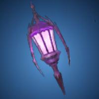 死をあやす灯籠のイラスト