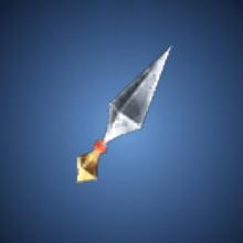 風切りの投擲具のイラスト