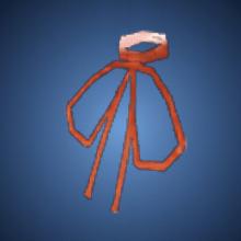 野性の赤紐