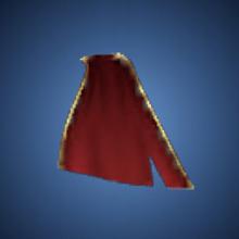 護りの赤布のイラスト