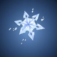 自己愛の氷結晶のイラスト