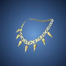狂犬の鎖のイラスト