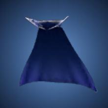 無限の青マント