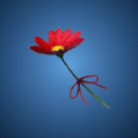 妖精の花のイラスト