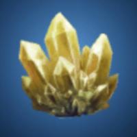 奇岩洞の金水晶