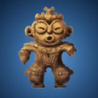太古の埴輪のイラスト