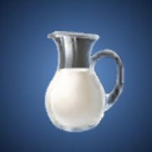 濃厚ミルクのイラスト