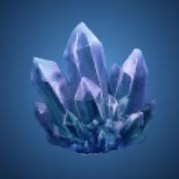 天水洞の蒼水晶