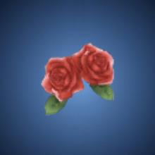 秀才の薔薇飾り
