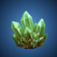 暴風洞の翠水晶