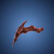 異海王の脚のイラスト