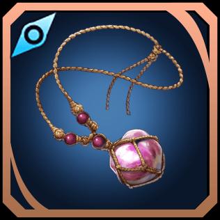 桃真珠の首輪