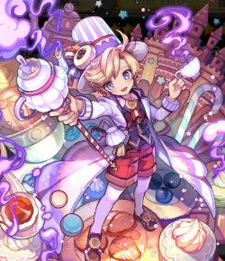紫香昇る茶会メルティペコ